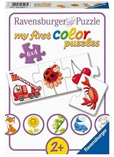Panel Kırtasiye Puzzle Renkli